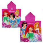Disney Princess Pink Hooded Poncho Towel